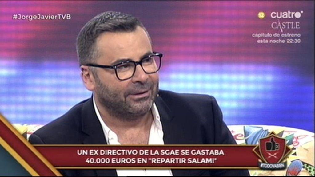"""Jorge Javier: """"Yo he sobornado sí, pero para llevarme a alguien al catre"""""""