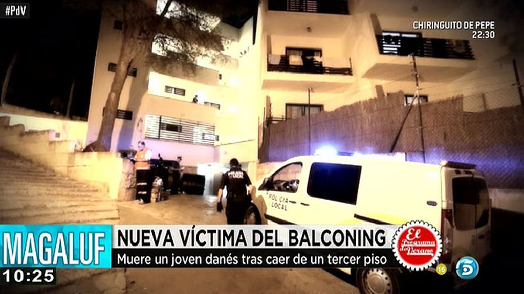 Muere un joven tras realizar balconing en Magaluf