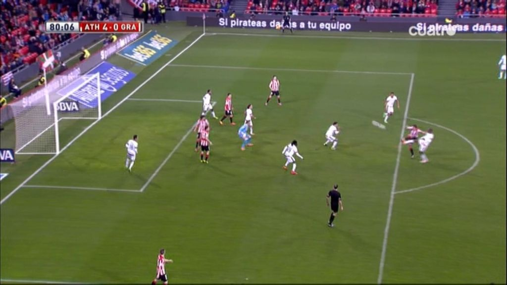 Gol de Gurpegi (Athletic 4-0 Granada)
