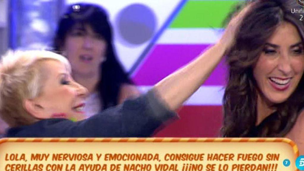 Karmele y Paz Padilla 'se tiran de los pelos'