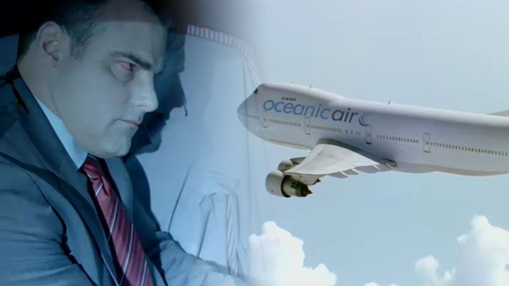 Castle encuentra un cadáver en el compartimento de maletas de un avión