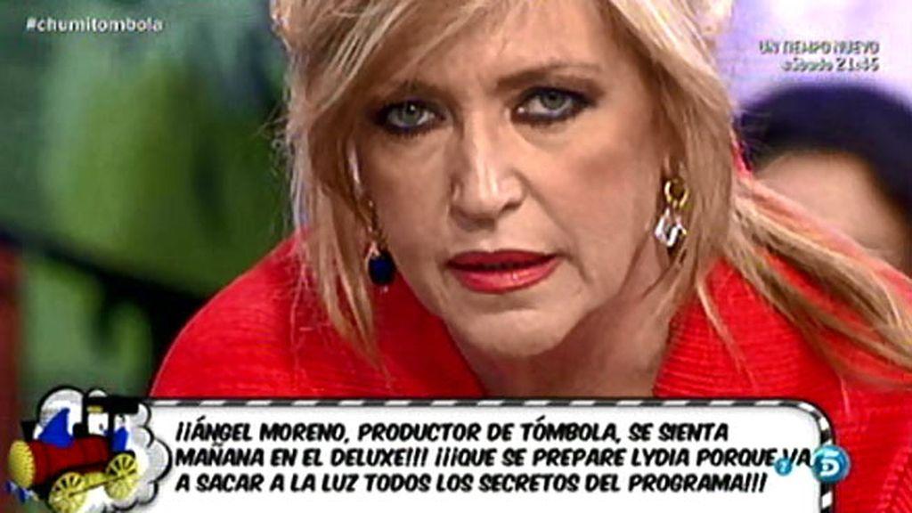 """Lydia, a Ángel Moreno: """"Me ha llegado que vas diciendo barbaridades sobre mí"""""""