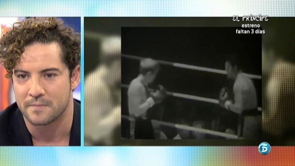Bisbal ve a su padre boxear por primera vez