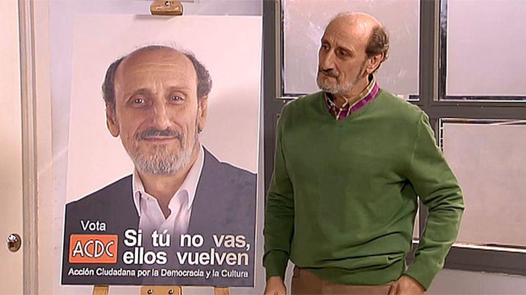 Enrique funda su partido: ¡Vota a ACDC!
