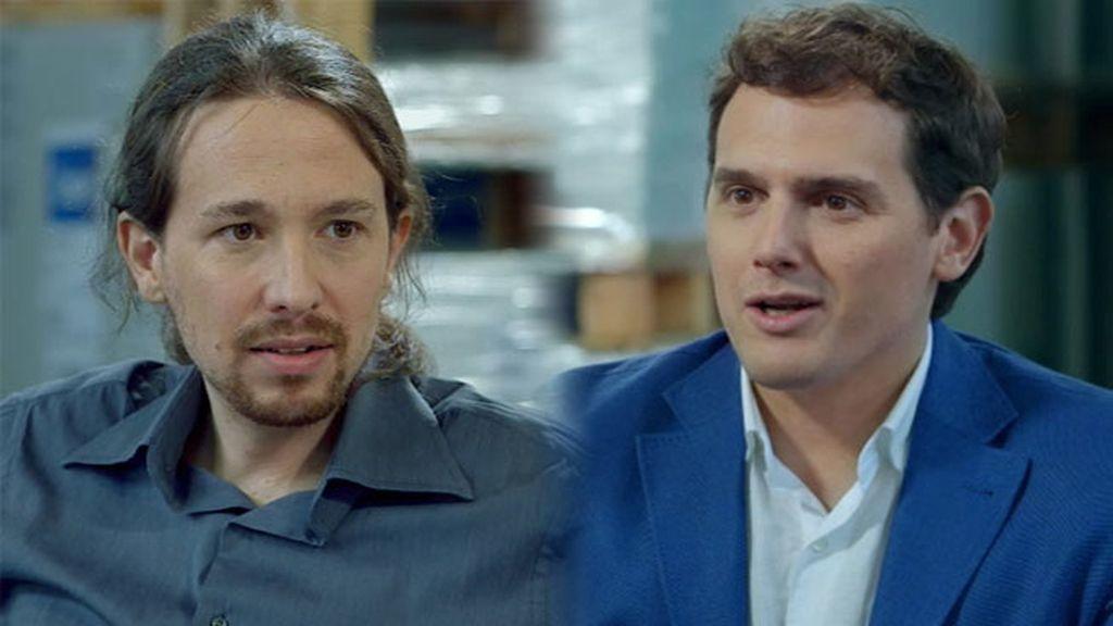 Quién les pone la lavadora, dónde viven... ¡El 'cara a cara' de Pablo Iglesias y Albert Rivera!