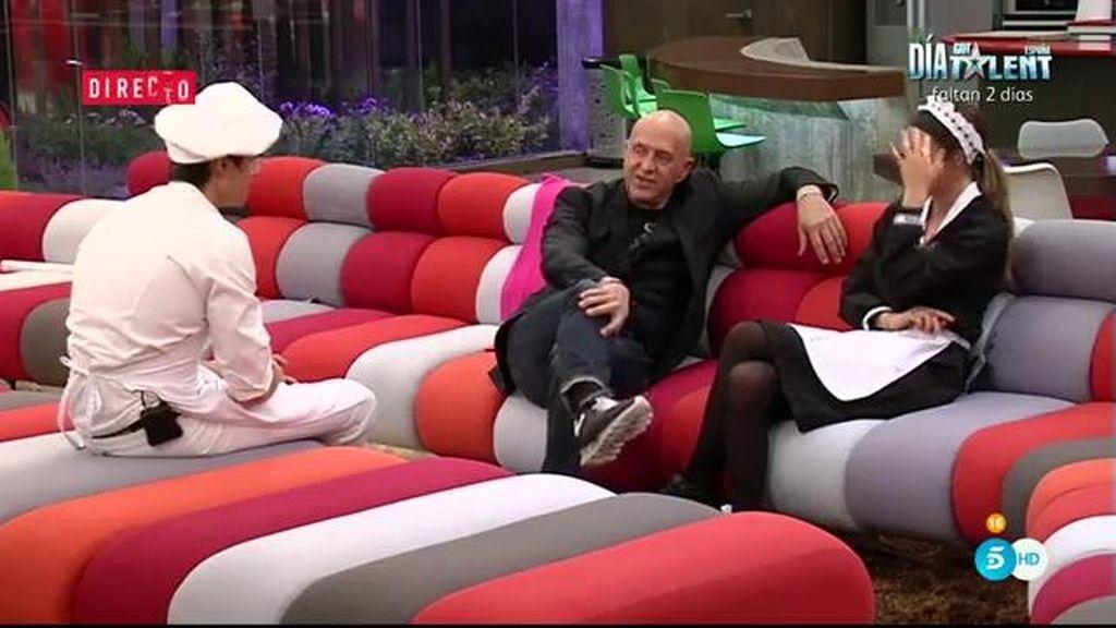 Javi Tudela, Laura y Kiko Matamoros, juntos en la casa de 'Gran Hermano VIP'