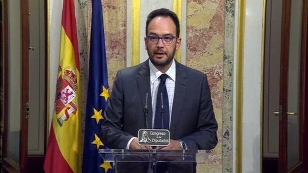 """Antonio Hernando: """"Rajoy no nos ha dado razón para apoyar su proyecto continuista"""""""
