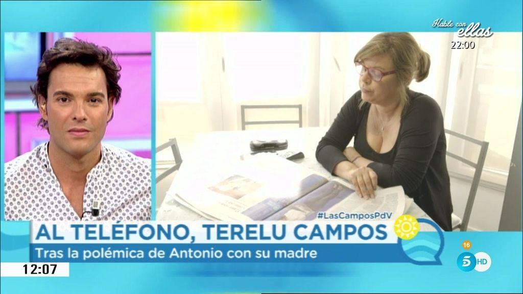 """Terelu, a Rossi: """"Sé que te arrepientes, pero a mi madre le desbordó tu pregunta"""""""