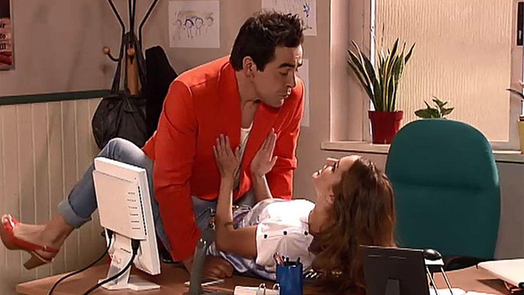 Amador quiere salami con Patricia
