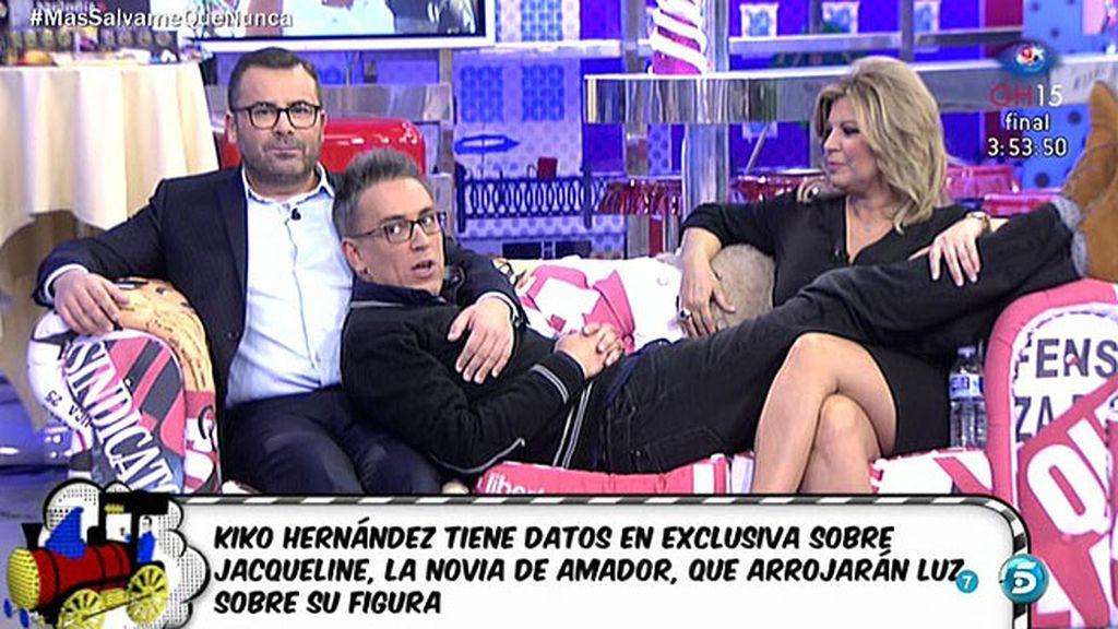 """Kiko Hernández: """"Jacqueline tiene un hijo torero muy conocido"""""""