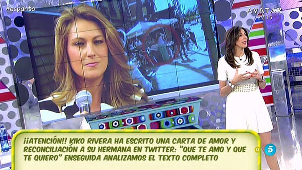 """Cristina Soria: """"La que se siente víctima es Chabelita"""""""