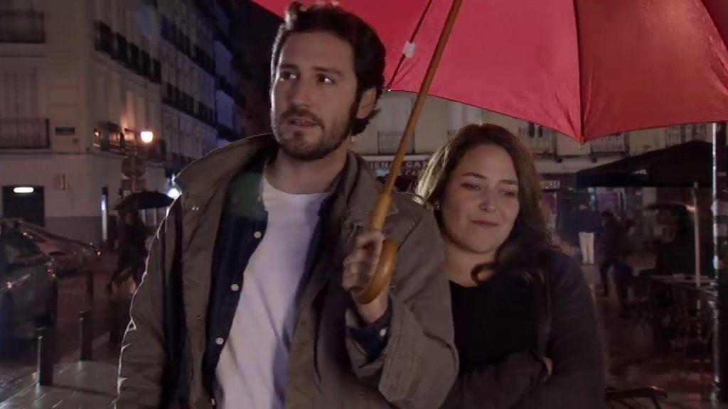 """Sergio, a Lucía: """"Eres divertida, tienes una réplica rápida y nos gusta la misma música"""""""