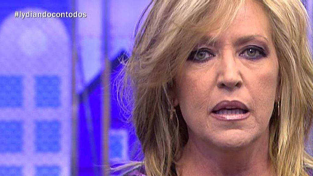 """Lydia, a A.Moreno: """"¿Dices que dormí la siesta con Matamoros? Qué poca vergüenza"""""""