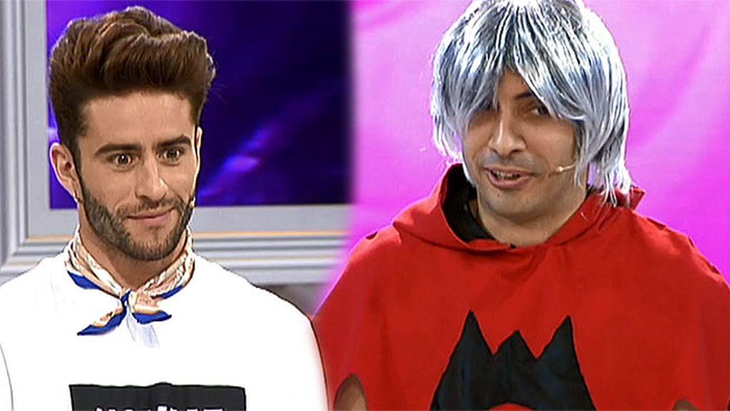 """Pelayo alucina con el look de Ángel: """"Es muy fuerte lo tuyo"""""""