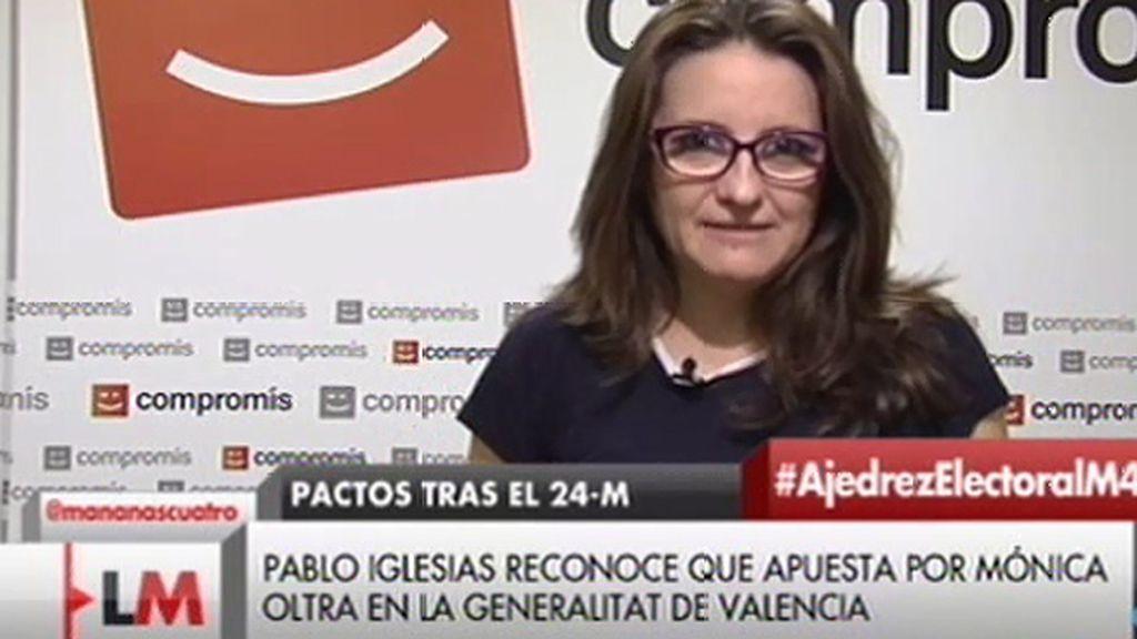 """Mónica Oltra: """"Es un escenario imposible, el PP no va a gobernar"""""""