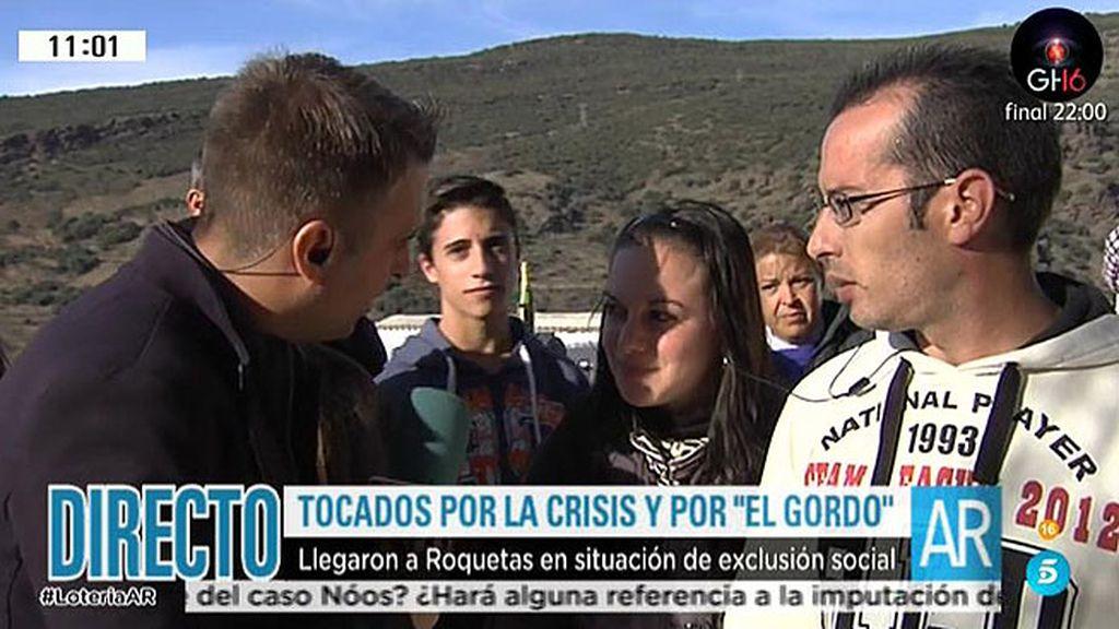 """Tocados por la crisis, y también por """"el gordo"""""""