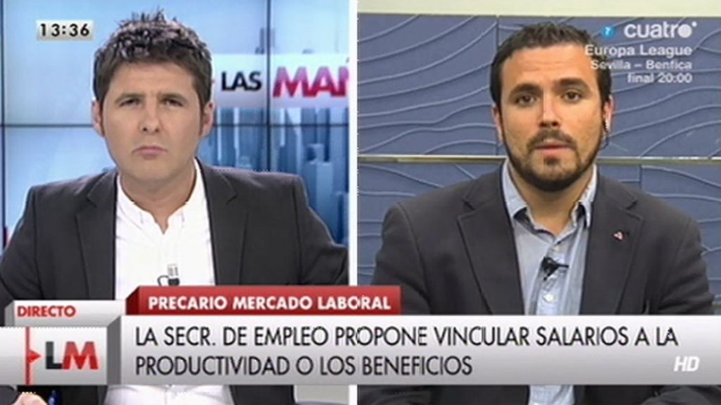 """A. Garzón: """"Nos encontramos con un proceso electoral que oculta la verdad"""""""