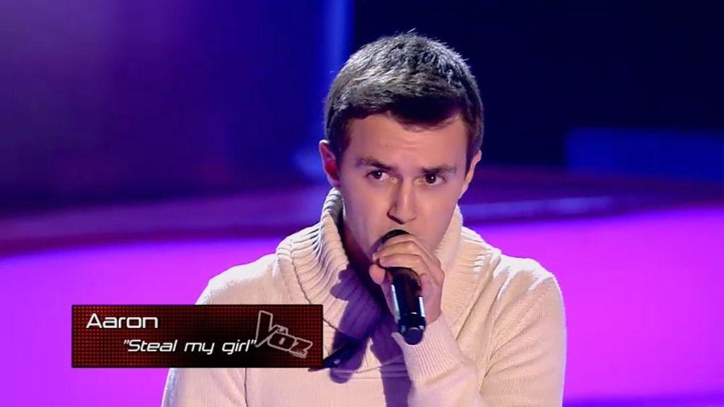 La actuación de Aarón: 'Steal my girl', de 'One Direction'