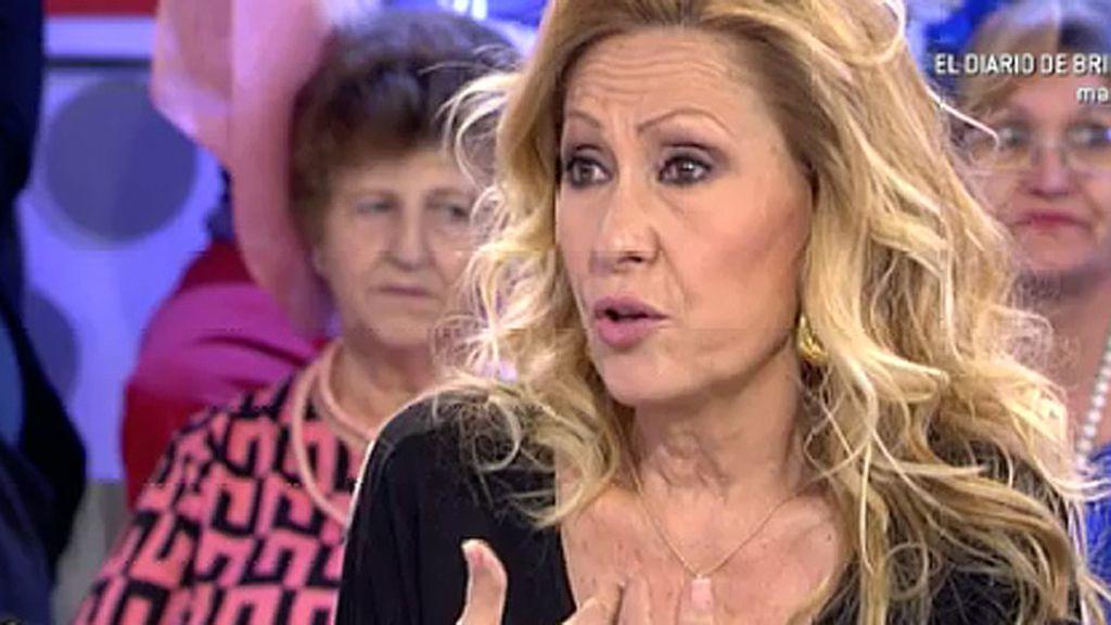 "Rosa Benito: ""Belén y yo nos queremos"""