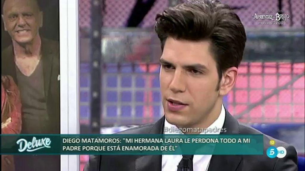 """Diego: """"Si mi padre pidiera perdón, sería un principio para darle una oportunidad"""""""