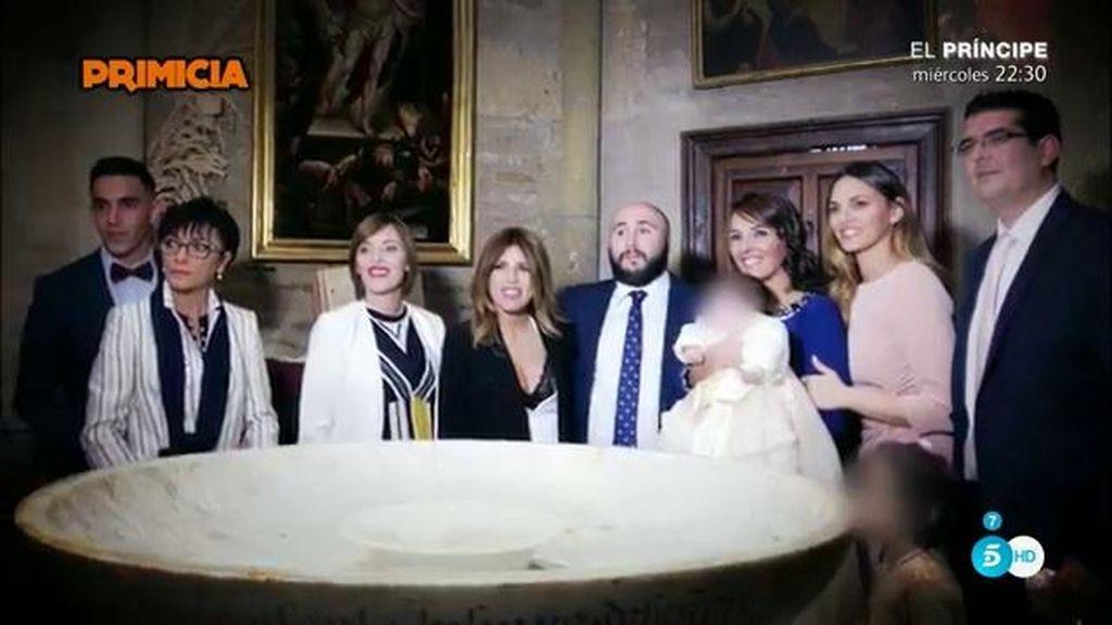 Imágenes exclusivas: ¿Qué pasó en el interior de la iglesia durante el bautizo?
