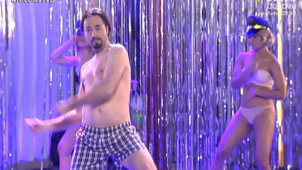 El 'Full Monty' de Pablo Iglesias en 'TVB'