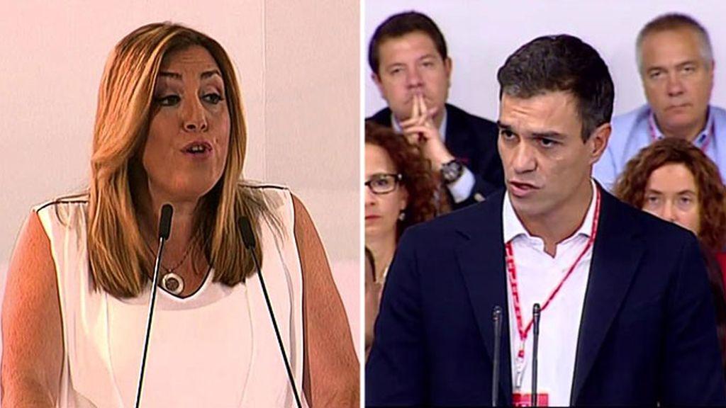 Pedro Sánchez y Susana Díaz: ¿del amor al odio en tan solo dos años?