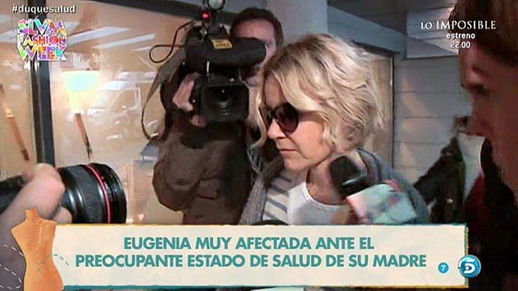 """Eugenia Martínez de Irujo, sobre la salud de la Duquesa de Alba: """"Está regular"""""""