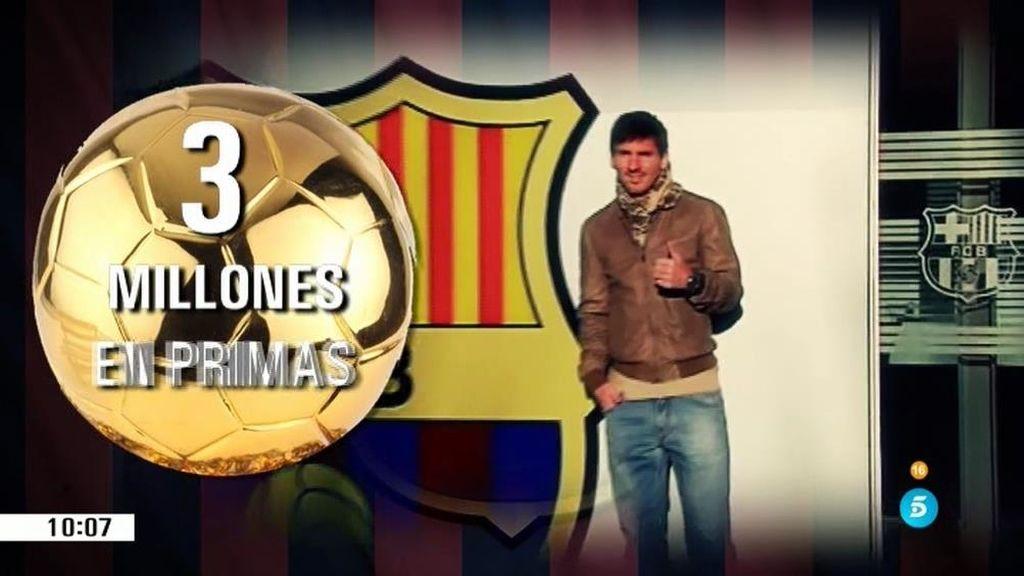 Messi, entre los deportistas mejor pagados
