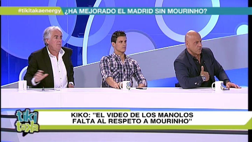 Los colaboradores de Tiki Taka, molestos con 'Los Manolos' por su video a Mourinho