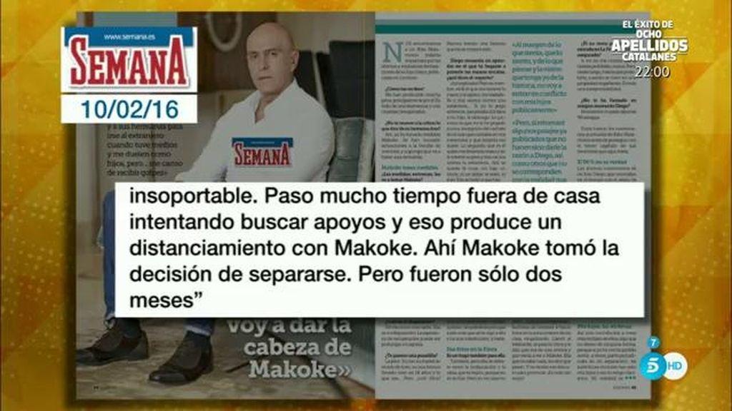 """Kiko M.: """"Quiero recuperar a mis hijos pero no les voy a dar la cabeza de Makoke"""""""