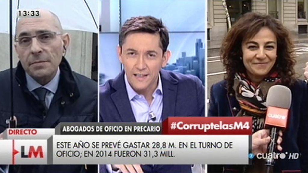 """E. Silva: """"Quien sale ganando de una pobre administración de justicia es el aparato de la corrupción"""""""