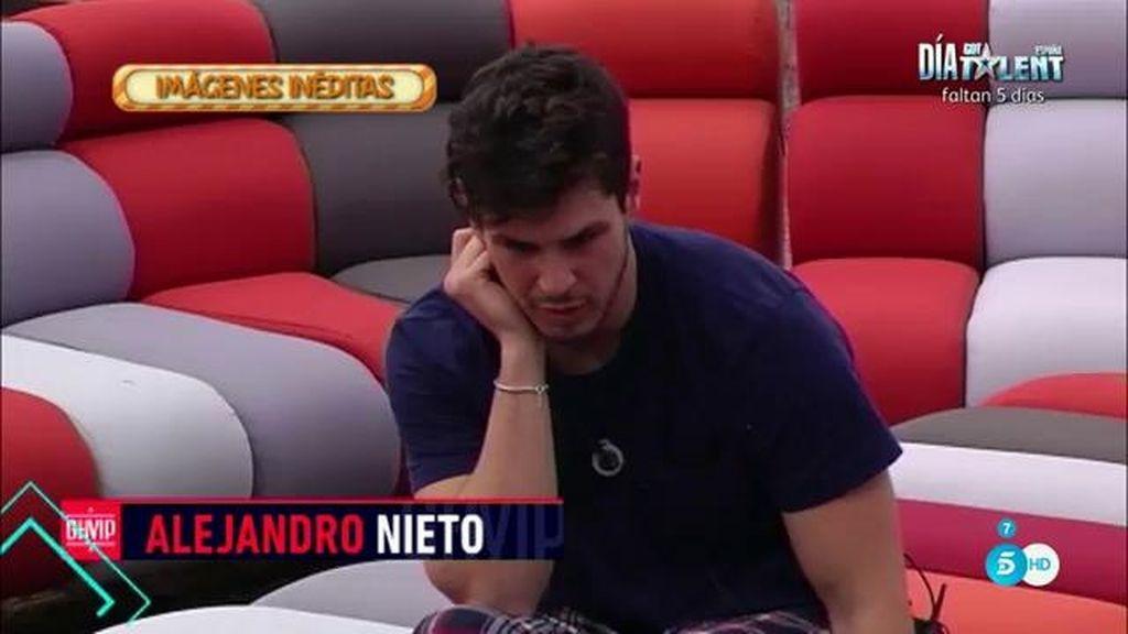 """Alejandro Nieto, a Liz: """"Laura le habla con un desprecio a Javi, que parece tonto"""""""