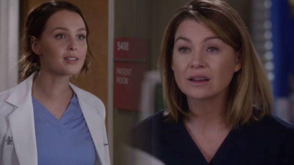 """Jo se enfrenta a Meredith Grey: """"Llame a ese militar y échese su propio novio"""""""