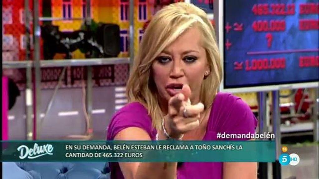 """Belén, de Toño Sanchís: """"Él pensaba que al darme 371.000 me iba a estar quieta"""""""