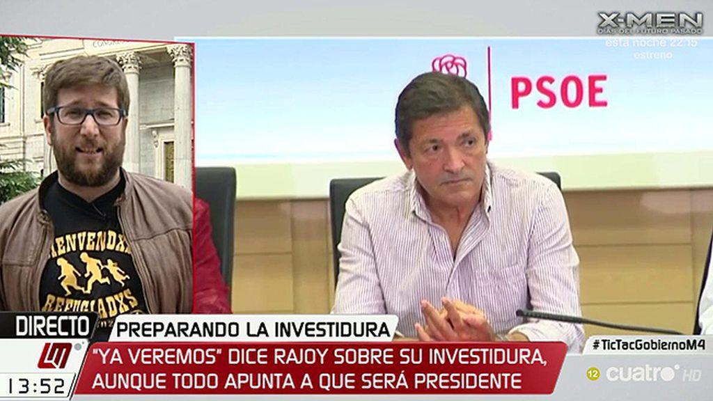 """Miguel Urbán, Podemos: """"El PSOE está provocando su suicidio político"""""""