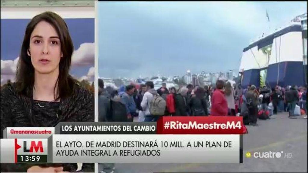 """Rita Maestre, sobre el plan de investidura: """"Las políticas deberían ser el centro del debate, no pactar por pactar"""""""
