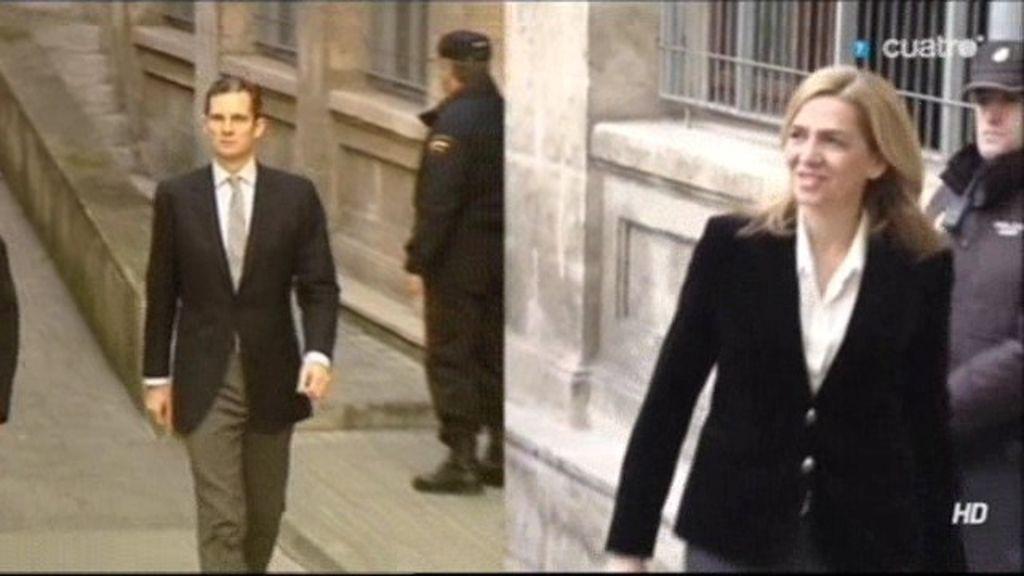 Infanta Cristina vs. Iñaki Urdangarín
