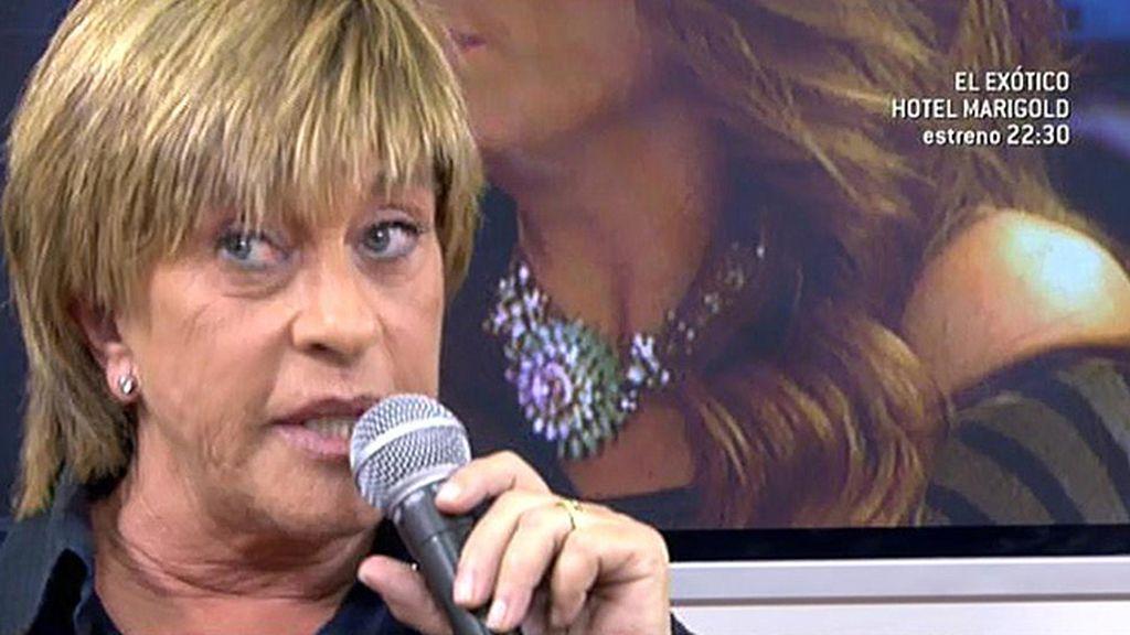"""Chelo Gª Cortés: """"En mi vida he pedido que un compañero no esté en un plató"""""""
