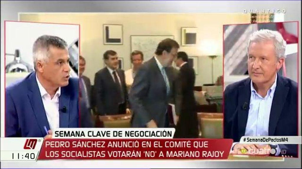"""Emilio del Río (PP): """"El PSOE está haciendo la campaña del 'no"""""""