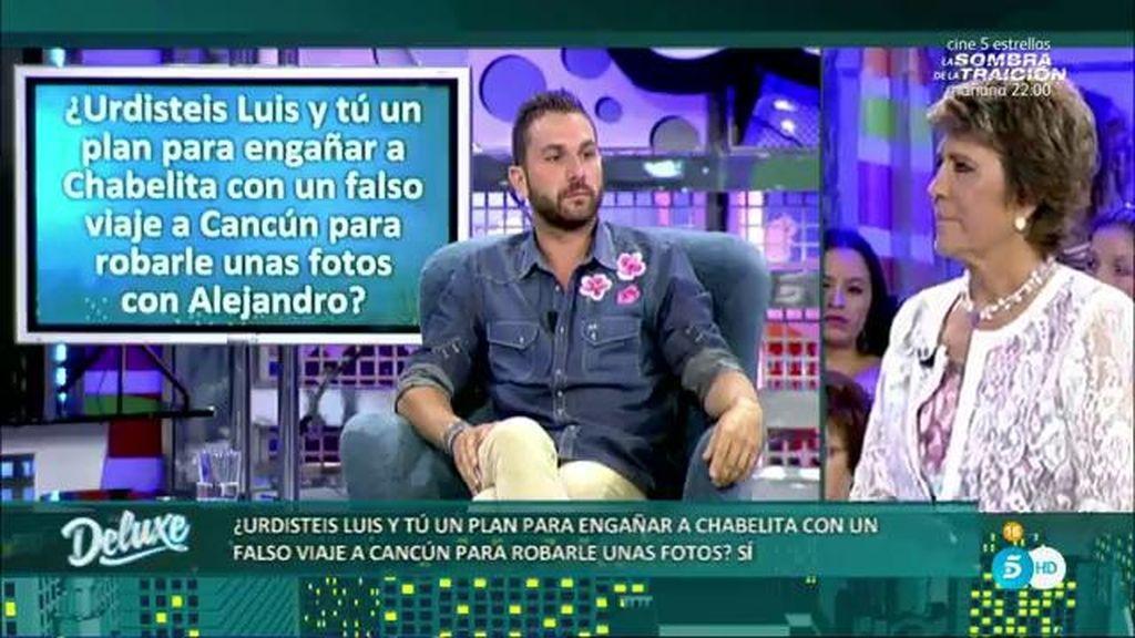 ¡Chabelita estuvo a punto de ser engañada por Luis Rollán y el paparazzi Jordi Martín!