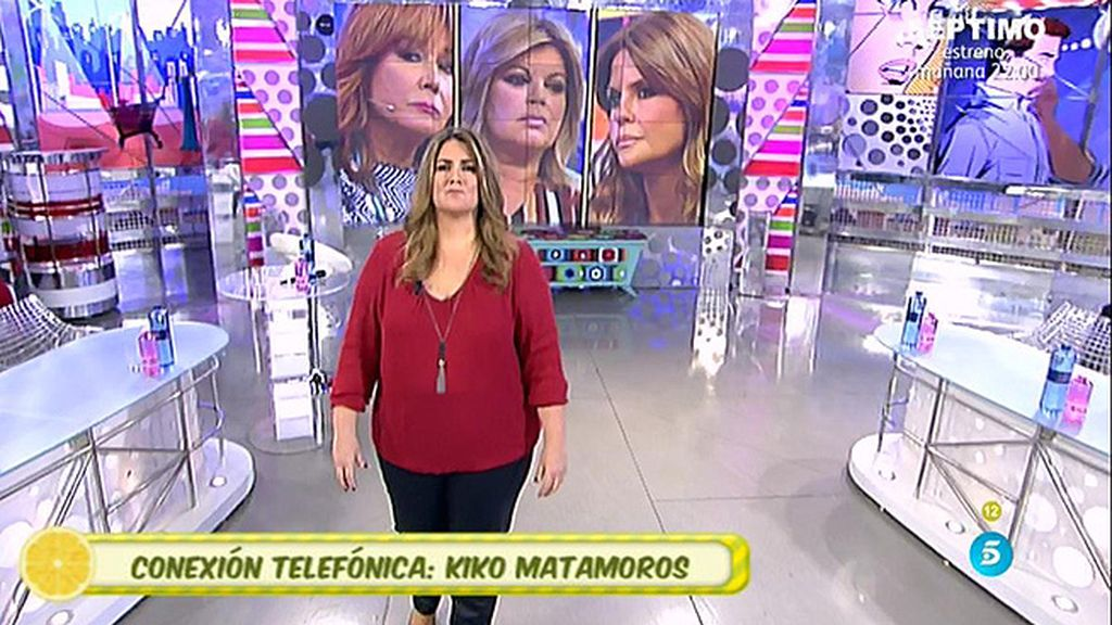 """Kiko Matamoros: """"Si quisiera, pondría el plató patas arriba"""""""