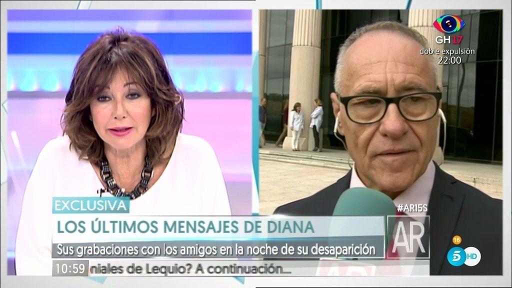 """Victor de Bernardo:""""La denuncia de Diana Quer a su padre existió en sede policial"""""""