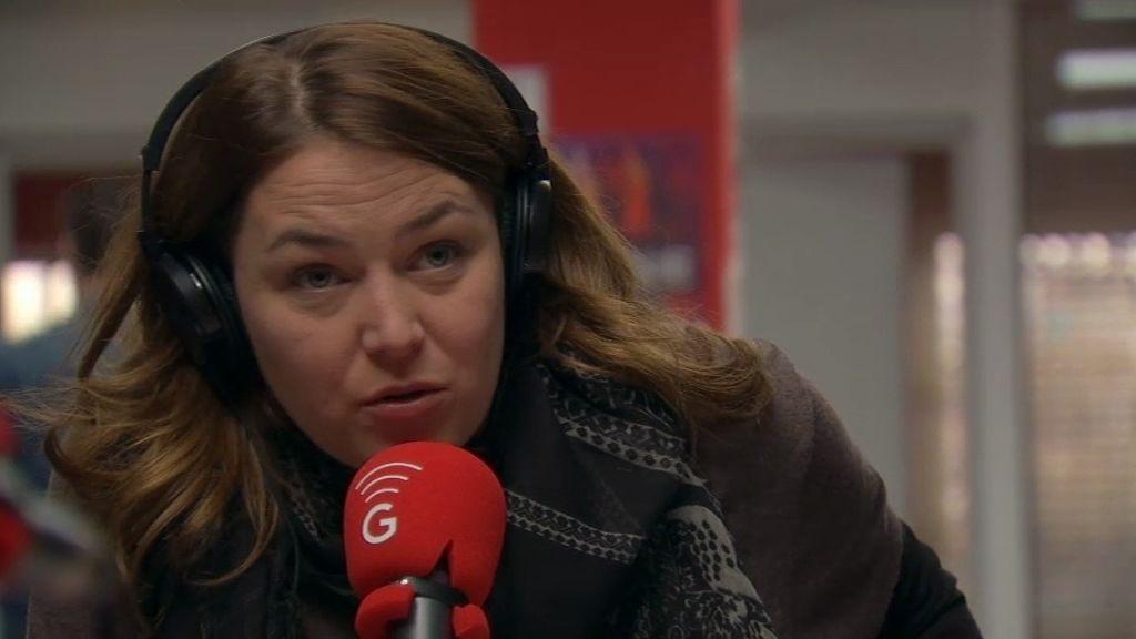 """Lucía, en la radio: """"Enamorarse es sentir que esa persona está en el mundo por ti"""""""