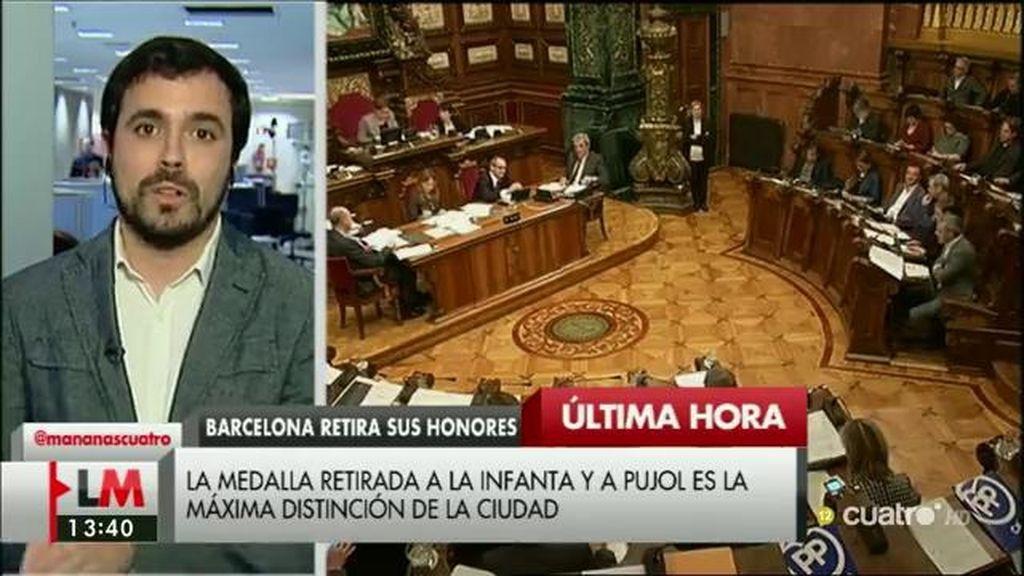 La entrevista de A. Garzón, a la carta