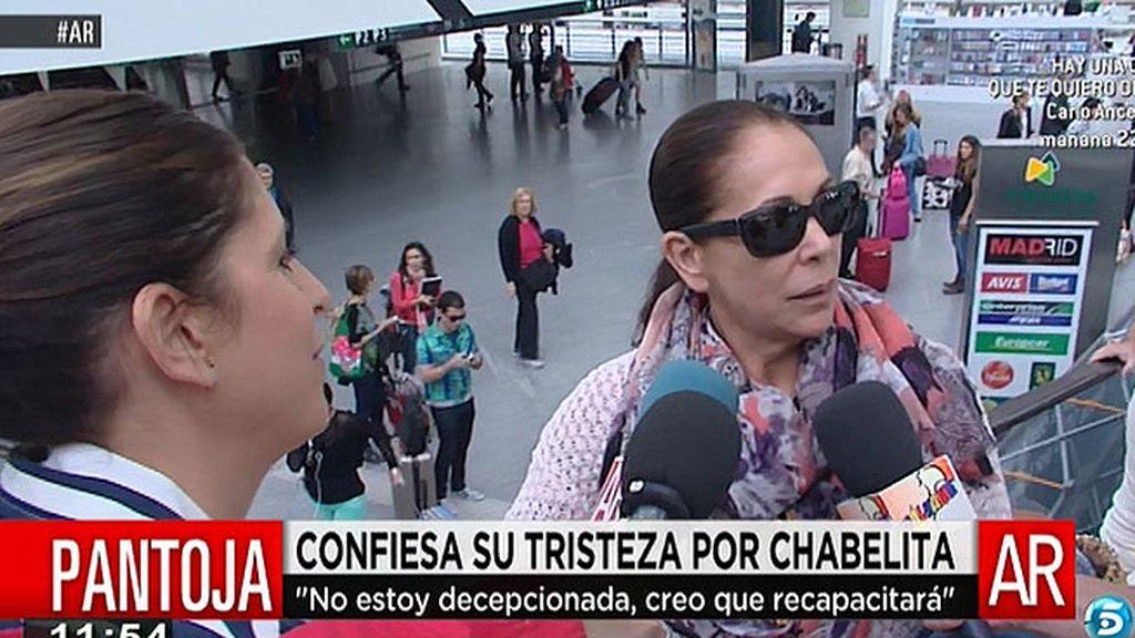 """Isabel Pantoja: """"Quiero que mi hija sea feliz y tiene que estar con su novio y su hijo"""""""