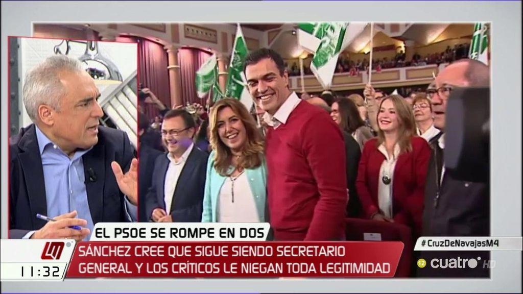 """Simancas, sobre la crisis del PSOE: """"Tienen que hablar los militantes"""""""