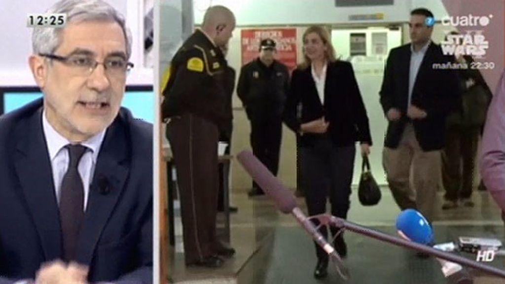 """Gaspar Llamazares: """"Es cierto que no ha habido verdadera colaboración con la justicia"""""""