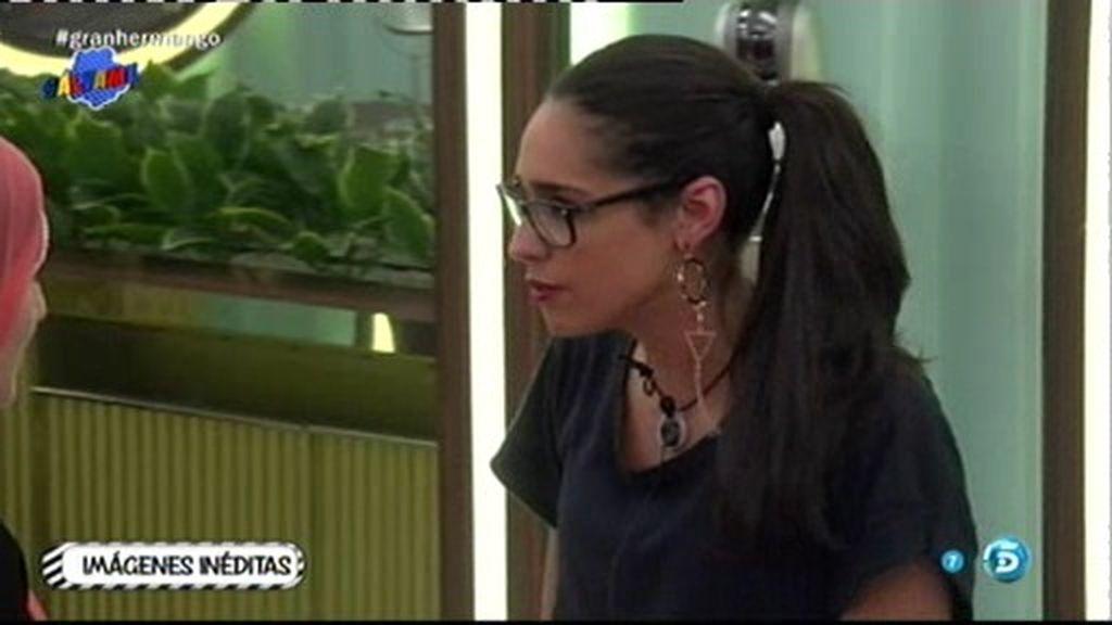 """¡Imágenes inéditas de GH! Lucía, a Shaima: """"Yo creo que Omar ya no me quiere"""""""