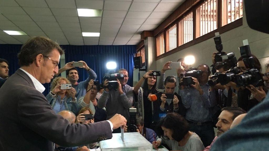"""Nuñéz Feijóo: """"Hoy toca decidir la Galicia que queremos"""""""